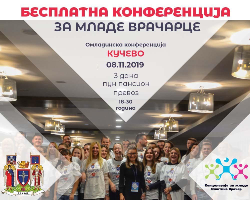 Пријави се за бесплатну омладинску конференцију у Кучеву!