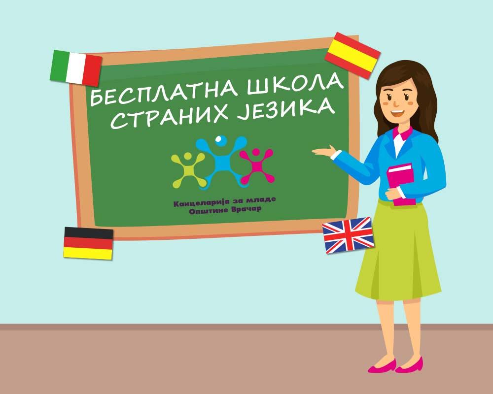 Школа страних језика БЕСПЛАТНО!!!
